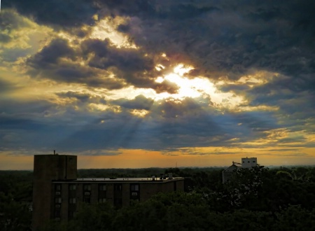 Rays Over Town