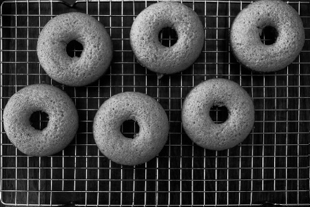 Baked Donuts Cooling