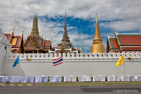 A glimpse of Bangkok Palace Complex