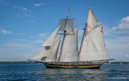 The Pride of Baltimore II at Harbourfront
