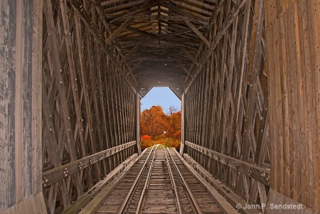 Color Thru the Covered Bridge