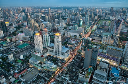 View from the top - Bangkok