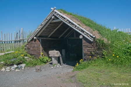 Replica of a Viking Dwelling, NL