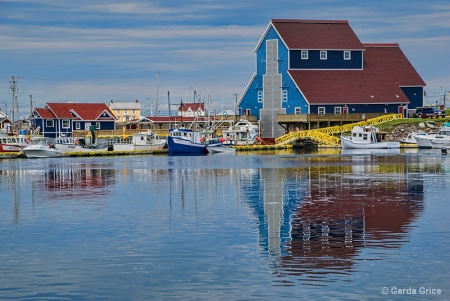 Reflections in Still Water, NL, Canada