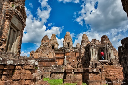 A Temple in Siem Reap