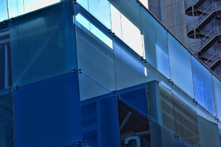 BLUE  AND  REFLECTIONS