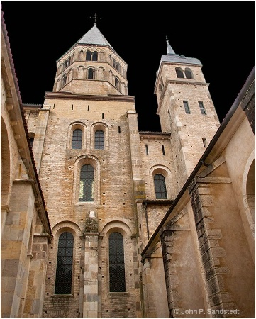 Towers of Cluny Abbey