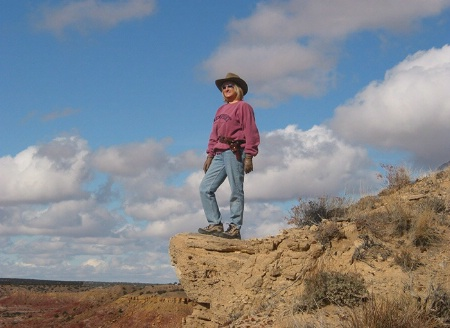 Looking out over the high desert