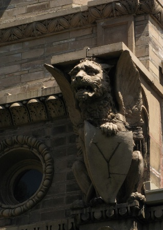 Gargoyle with a Shield