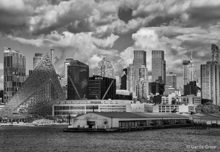 Harbour View of NYC Skyline