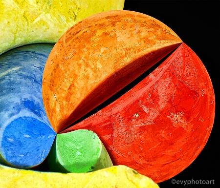 Abstract Crayons
