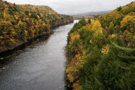 Connecticut River in Massachusetts