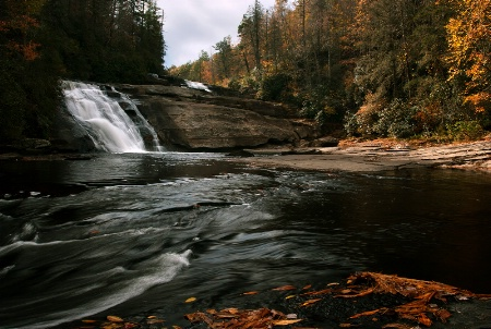 Triple Falls in Fall