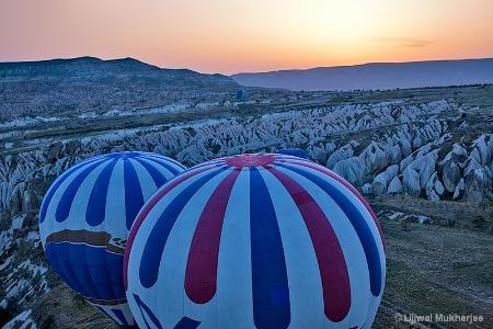 Cappadocia at Dawn
