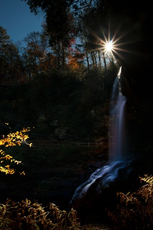 Starlight at Dry Falls