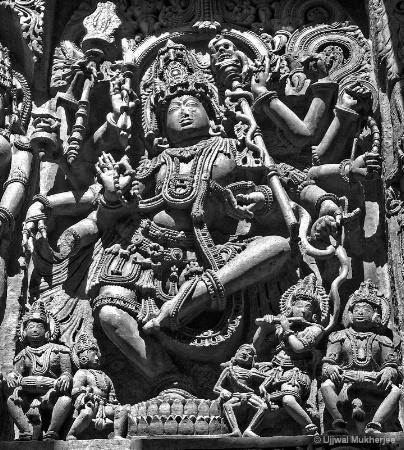 Sculptural details