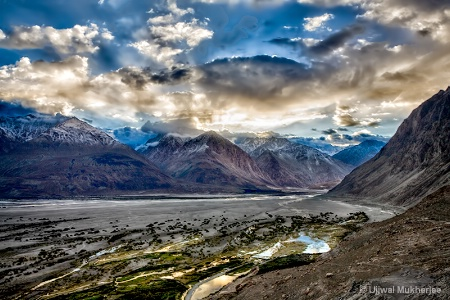 An early morning in Nubra