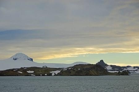 Morning Sky over Antarctica