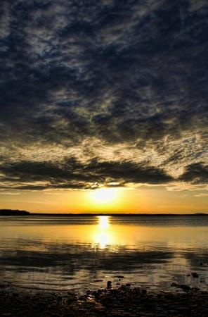 Sundown Over Shining Shores