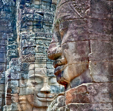 Stone Faces at Bayon