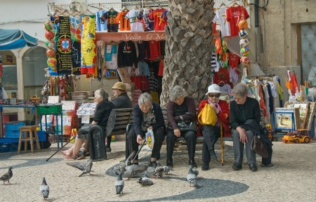Bus Stop, Nazare Portugal