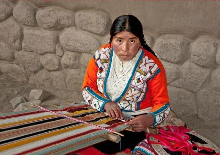 Girl in Peru