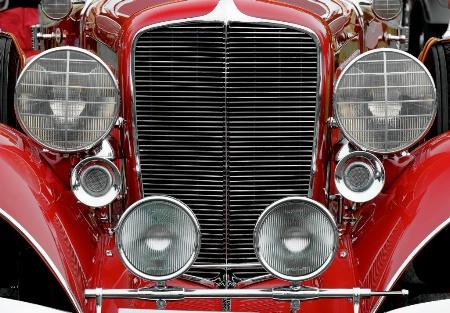 1934 Auburn Phaeton Saloon Coupe
