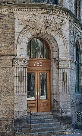 Architectural Detail in Old Montreal
