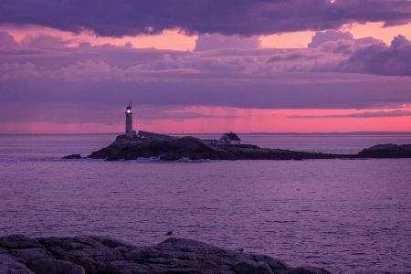 White Island Sunset