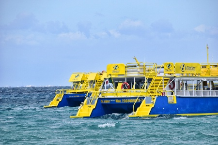 FERRY  BOATS  TO  AND  FROM  COZUMEL