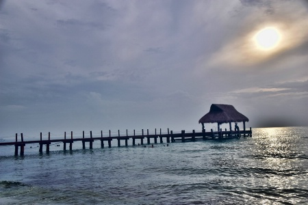 A  PIER AT  COZUMEL
