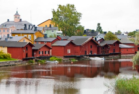 Along the Porvoonjoki