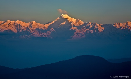 Sunrise over Mount Kanchenjunga