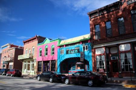 McGregor,  Iowa Main Street