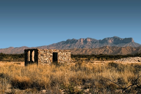 Near Guadalupe Mountains National Park