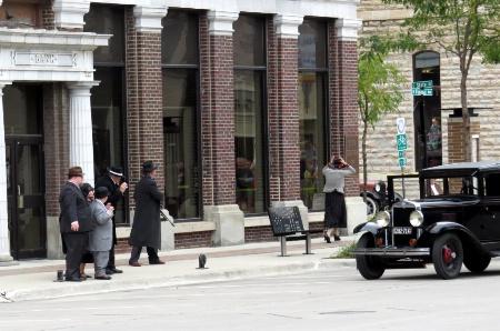 Bank Robbery Reenactment