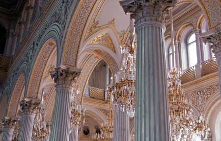 Columns and Chandeliers
