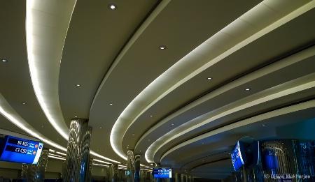 Leading Lines at Dubai Airport