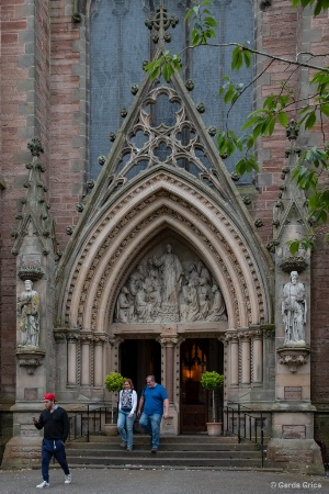 Entrance of St. Andrew's Cathedral, Inverness