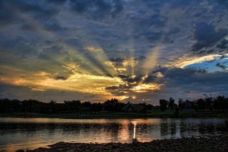 Beautiful Rays Of The Morning