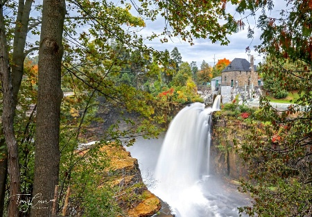 Autumn in Ausable Chasm