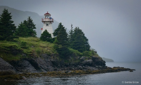 Woody Point Lighthouse, NL, Canada