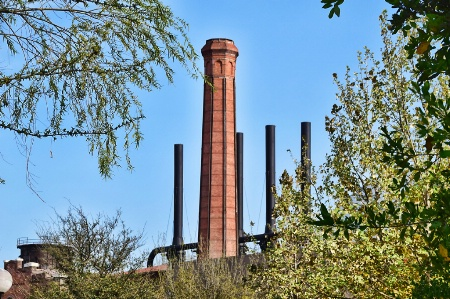 OLD BLAST FURNACES
