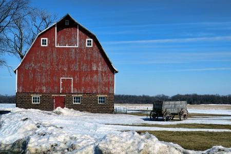 Iowa Farm 2 Days Before Spring