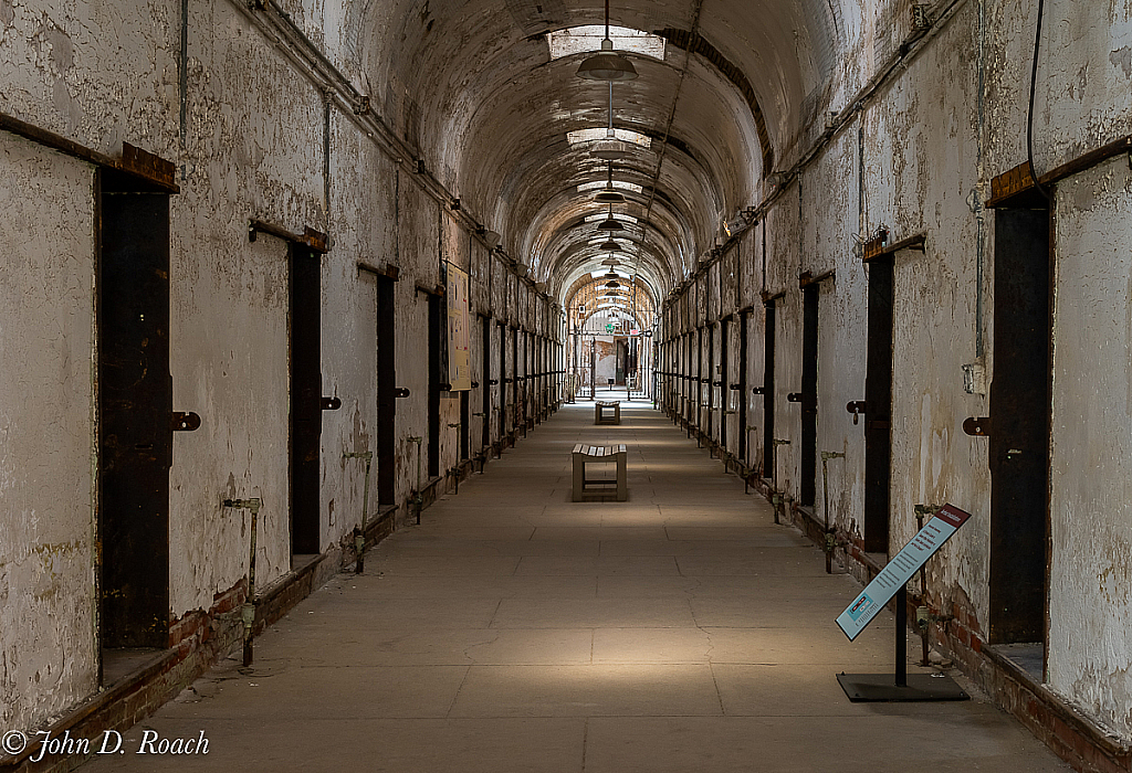 Cell Block Eastern State Penitentiary