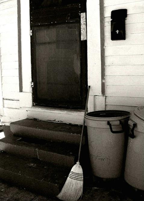 Rampart  Street   Doorway