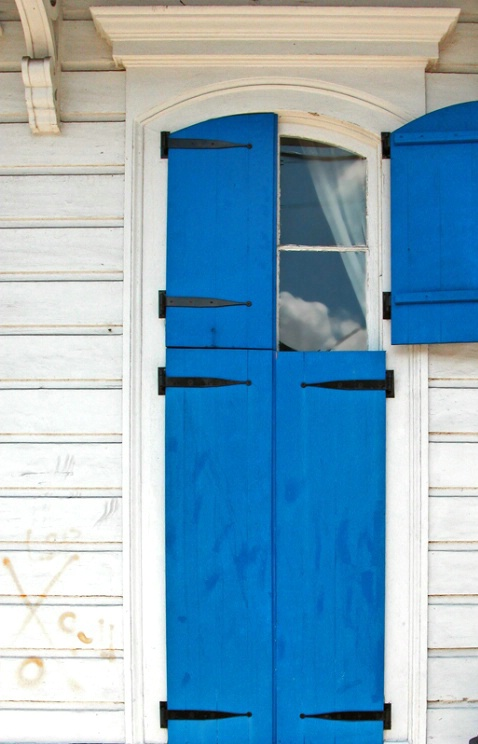 Blue Window, Faubourg Marigny