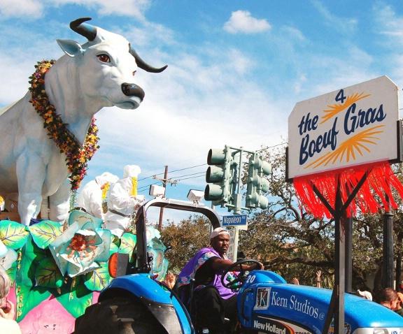 Le Boeuf Gras, Rex Parade 2006, New Orleans