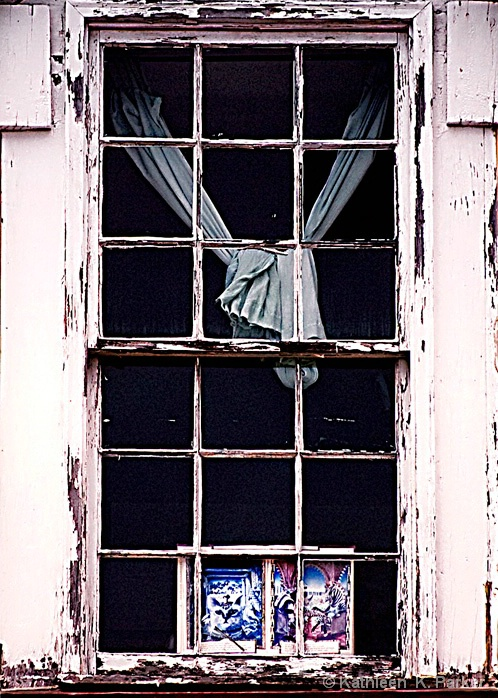 Window in New Orleans, French Quarter