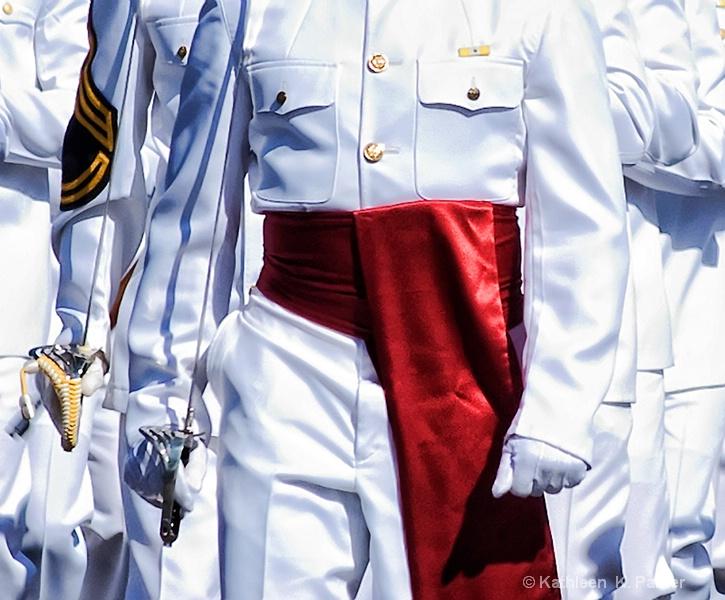 Marines Marching on Mardi Gras 2